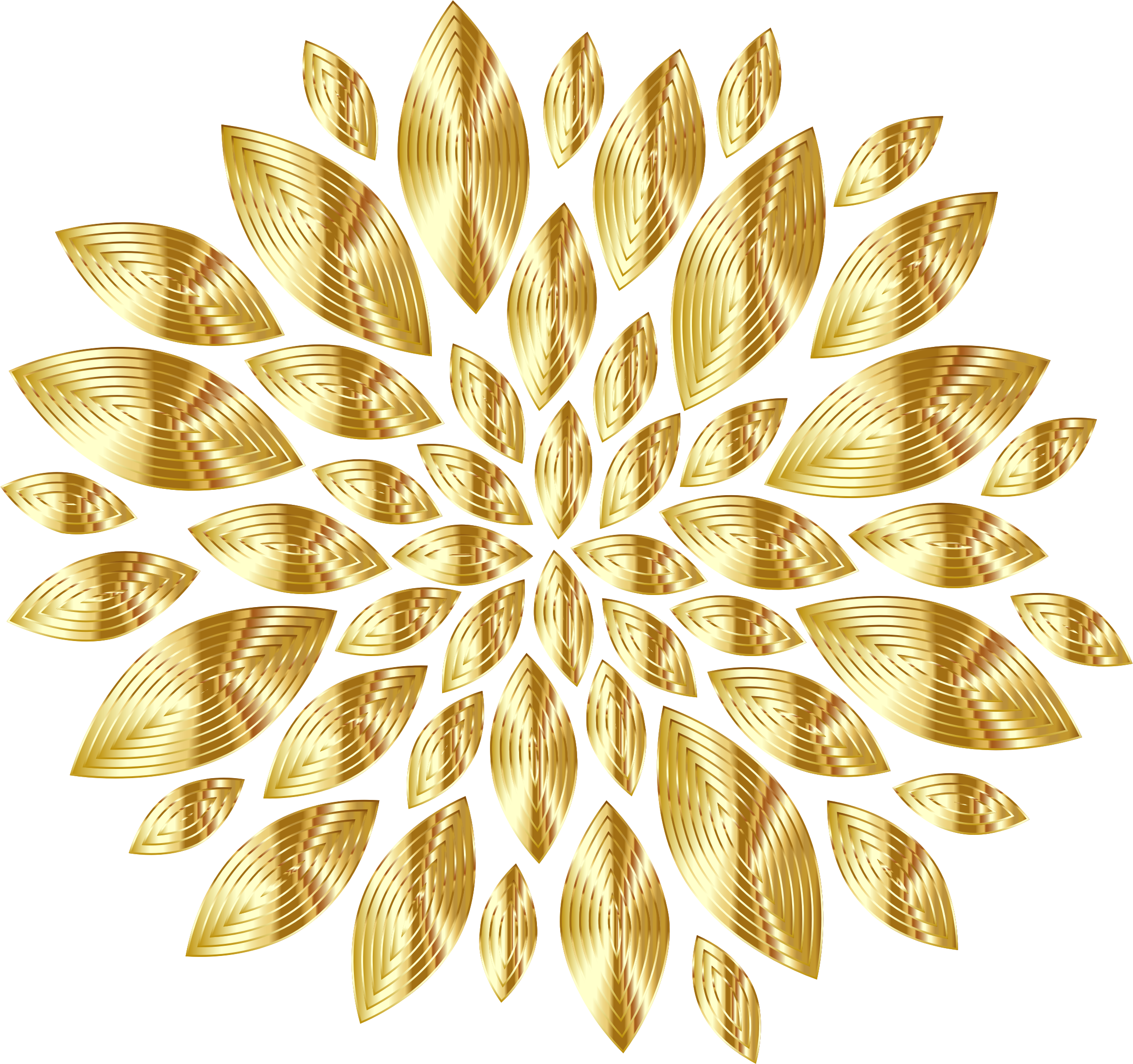 Beautiful clipart gold flower Png Decor PNG Clipart clipartsgram