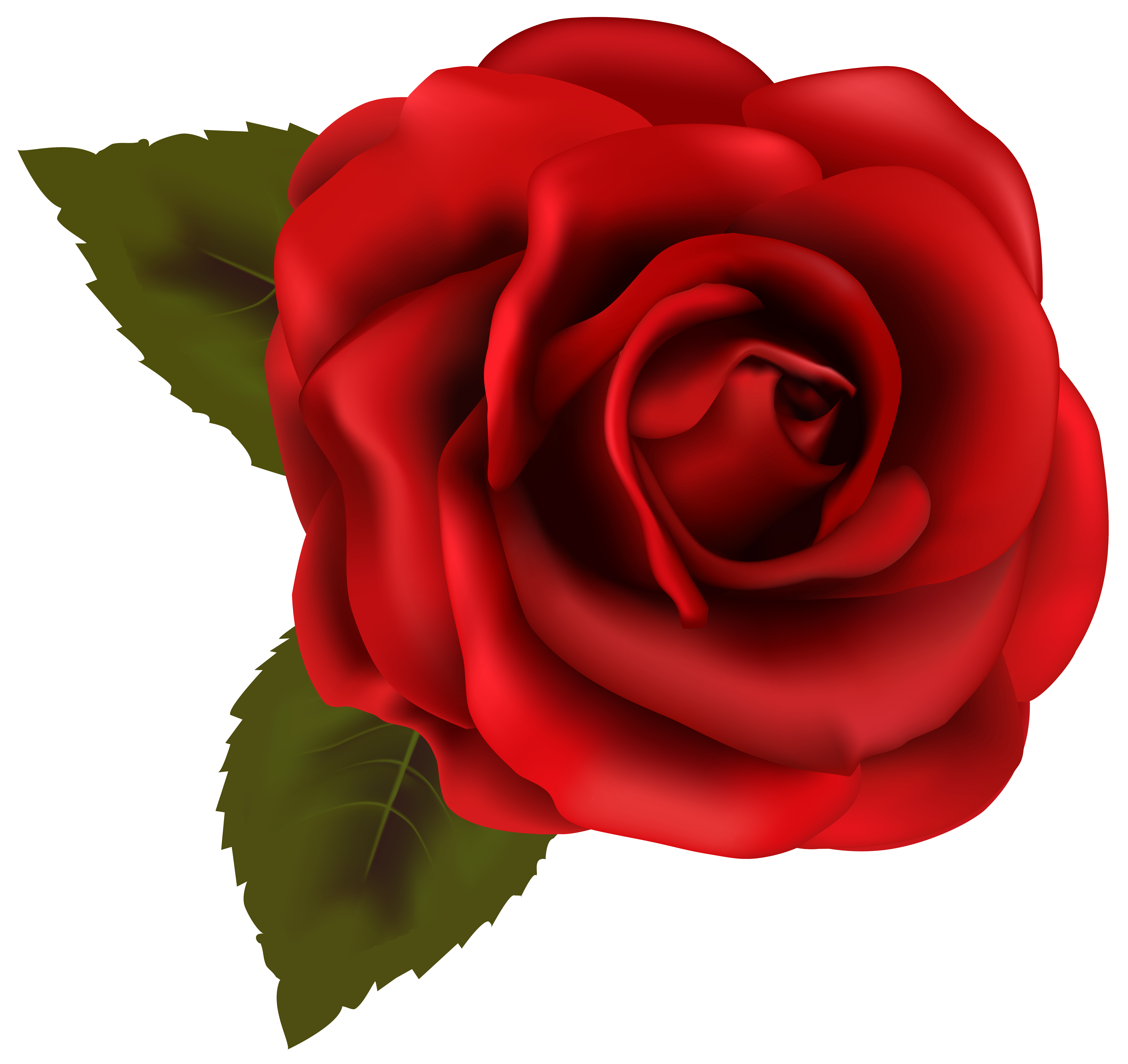 Red Flower clipart nice view #6