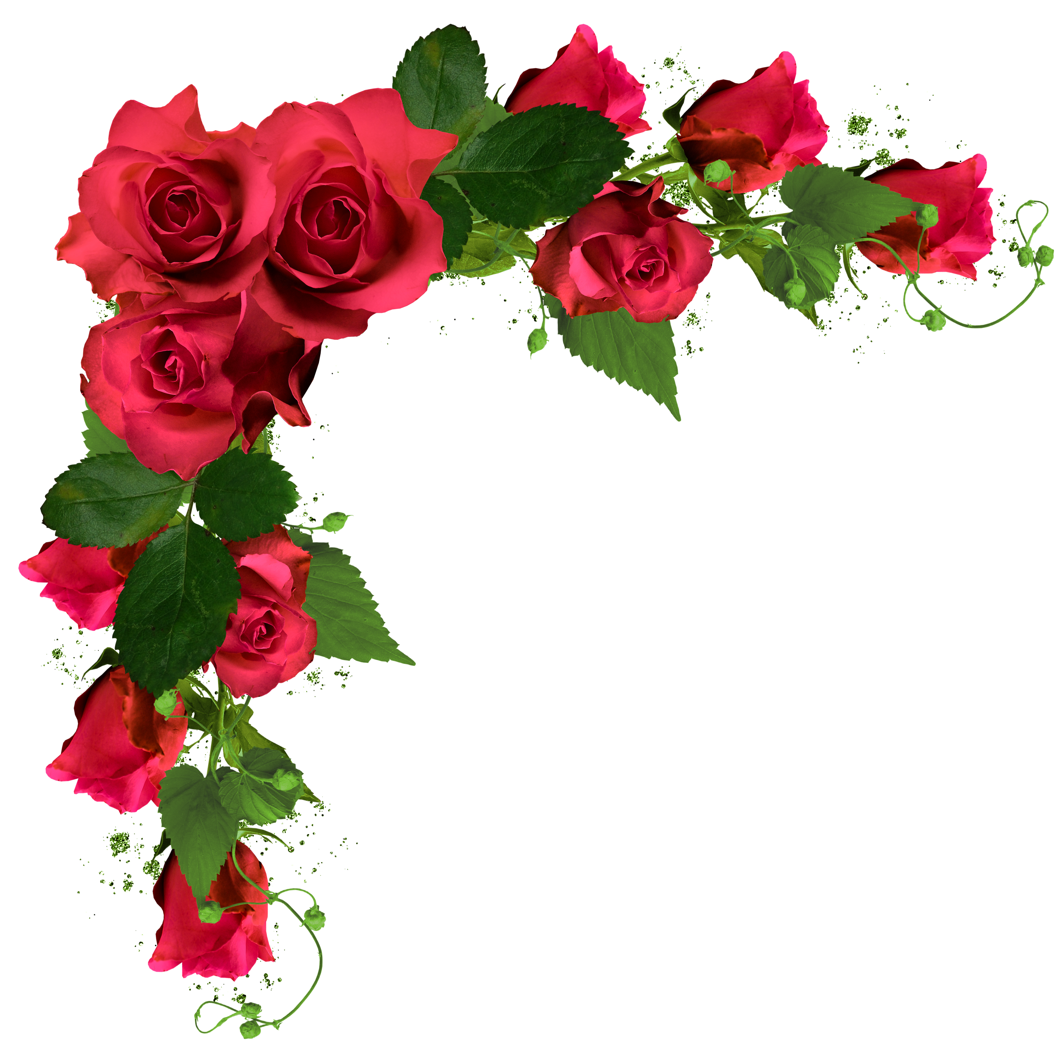 Red Flower clipart nice view #10