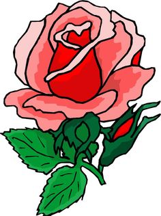 Beautiful clipart rose plant Flowers Bloemen Trees more Beautiful