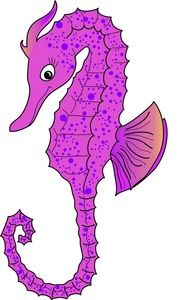 Seahorse clipart animated #13