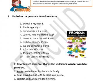 Beautiful clipart she pronoun Personal Pronouns Pronouns FREE 158