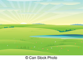 Beautiful clipart sunny day Vector  spring Day Day