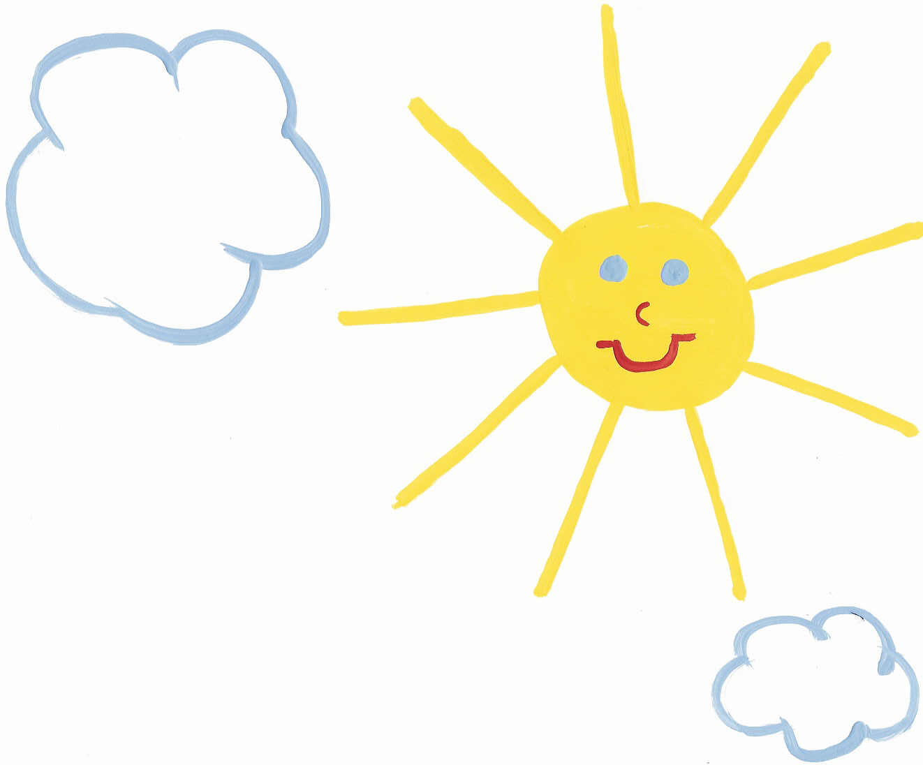 Beautiful clipart sunny day Sunny Day on Pictures Art
