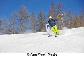 Beautiful clipart sunny season  Stock winter on at
