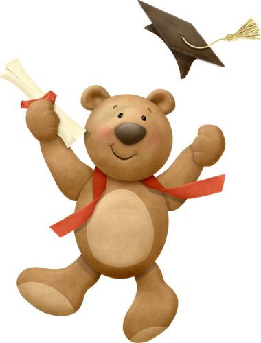 Teddy clipart graduation On cutepictures на / images