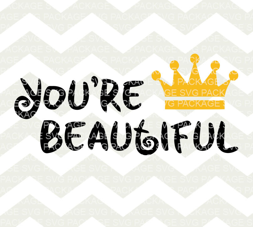 Beautiful clipart you are File You're SVG a Clipart