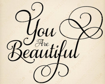 Beautiful clipart you are Very Are beautiful you Clipart