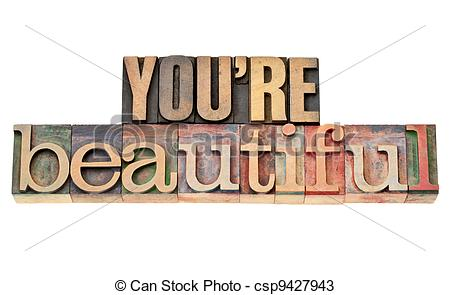 Beautiful clipart you are In beautiful wood  phrase