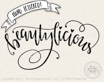Beautiful clipart you are Clipart Beautylicious Silhouette Cutting Cut