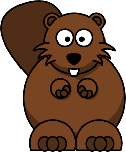 Beaver clipart drawn Free & free royalty online