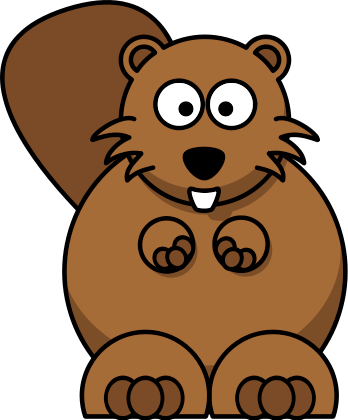 Beaver clipart Clip cartoon Clipart Panda Clipart
