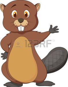 Beaver clipart adorable Cute Beaver beaver SRiehlCreations Clipart