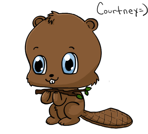 Beaver clipart adorable Beaver cute illustrations beaver cute