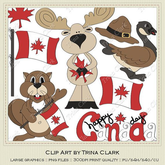 Beaver clipart canada day Flag Clip on DAY Canada