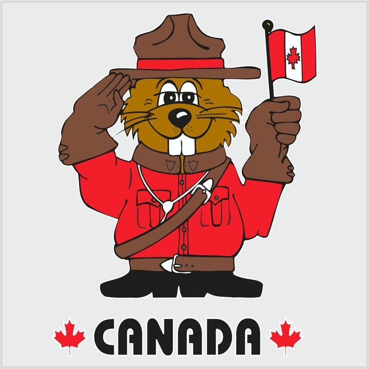 Beaver clipart canada day Best Canada canada on cartoon