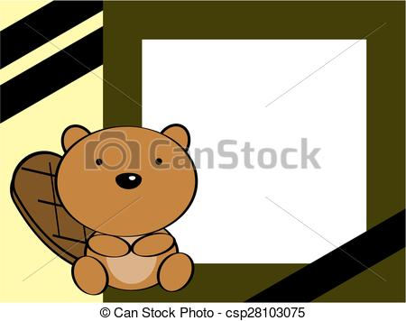 Beaver clipart canadian baby Background of beaver beaver cute