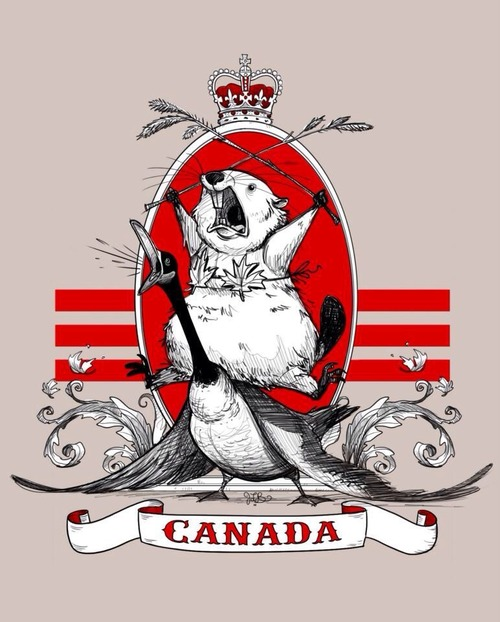 Beaver clipart canadian history Keep goose beaver stupid