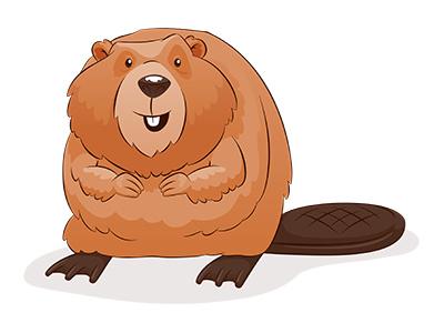 Beaver clipart cute Cute beaver Cliparts clipart Beaver