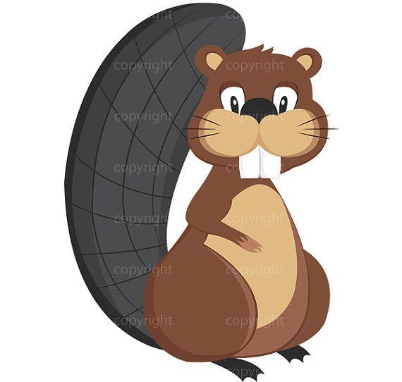 Beaver clipart cute Free Cute clipart Illustration Panda