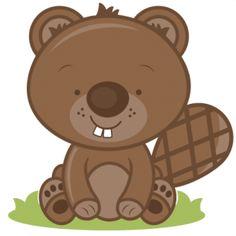 Beaver clipart cute Clipart Cute Beaver