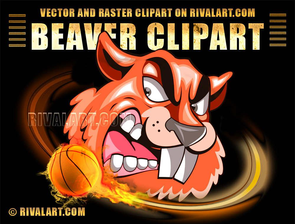 Beaver clipart fishing Beaver Beaver printing com Clipart