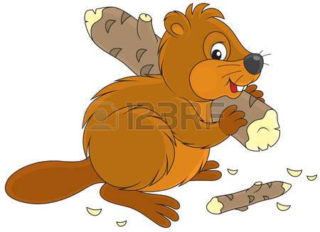 Beaver clipart funny Collection Beaver Cartoon clipart Beaver