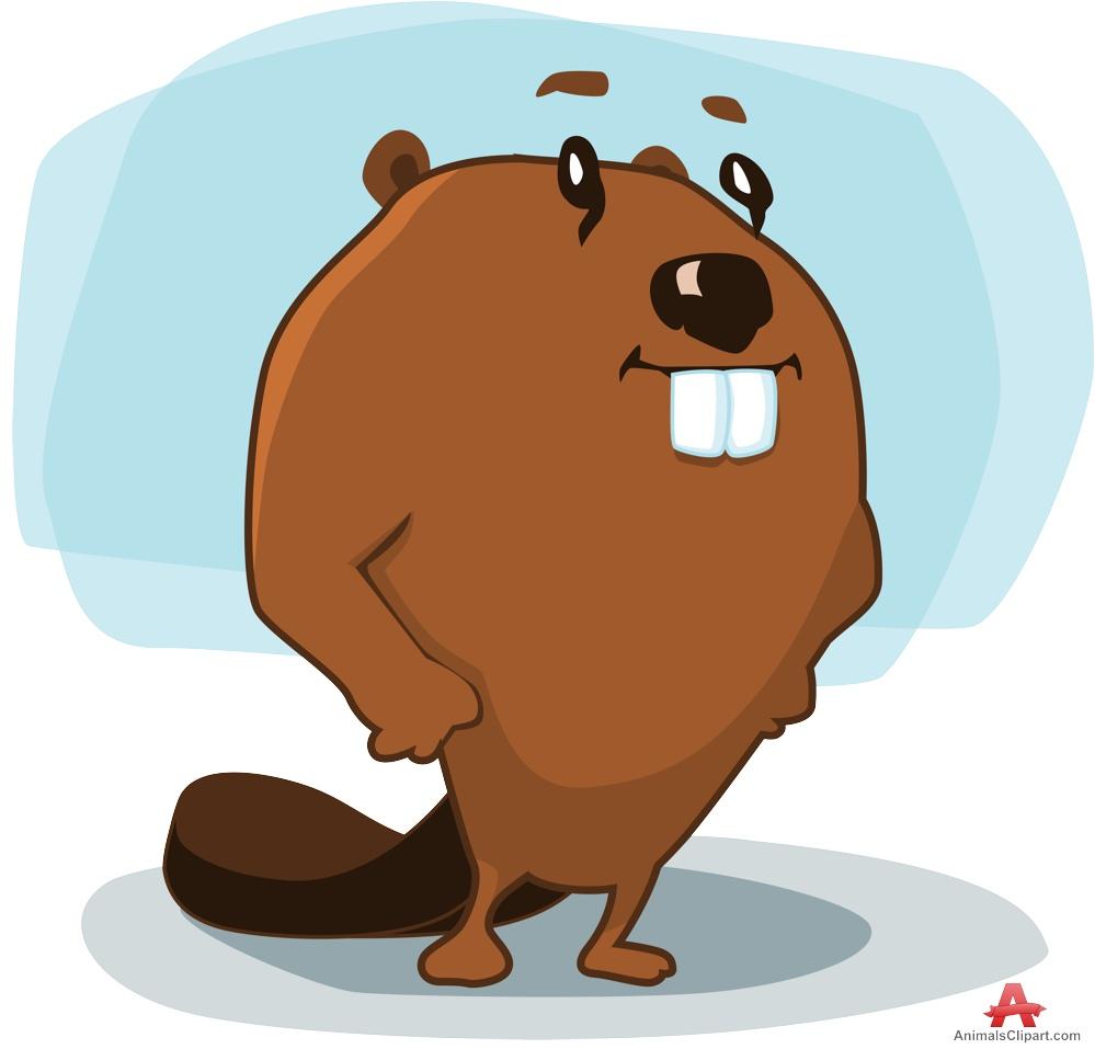 Beaver clipart funny Design Cartoon Cartoon Clipart Character