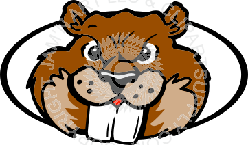 Beaver clipart head In head Cool Color in