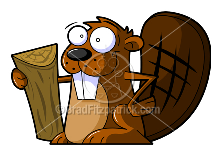Beaver clipart squirrel cartoon Beaver Cartoon  Picture Cartoon