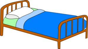 Bed clipart christmas Clipart Clipart Bed Images Make
