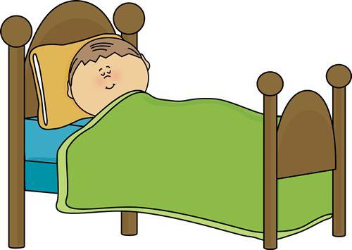 Bed clipart Of #11540 of clipart child