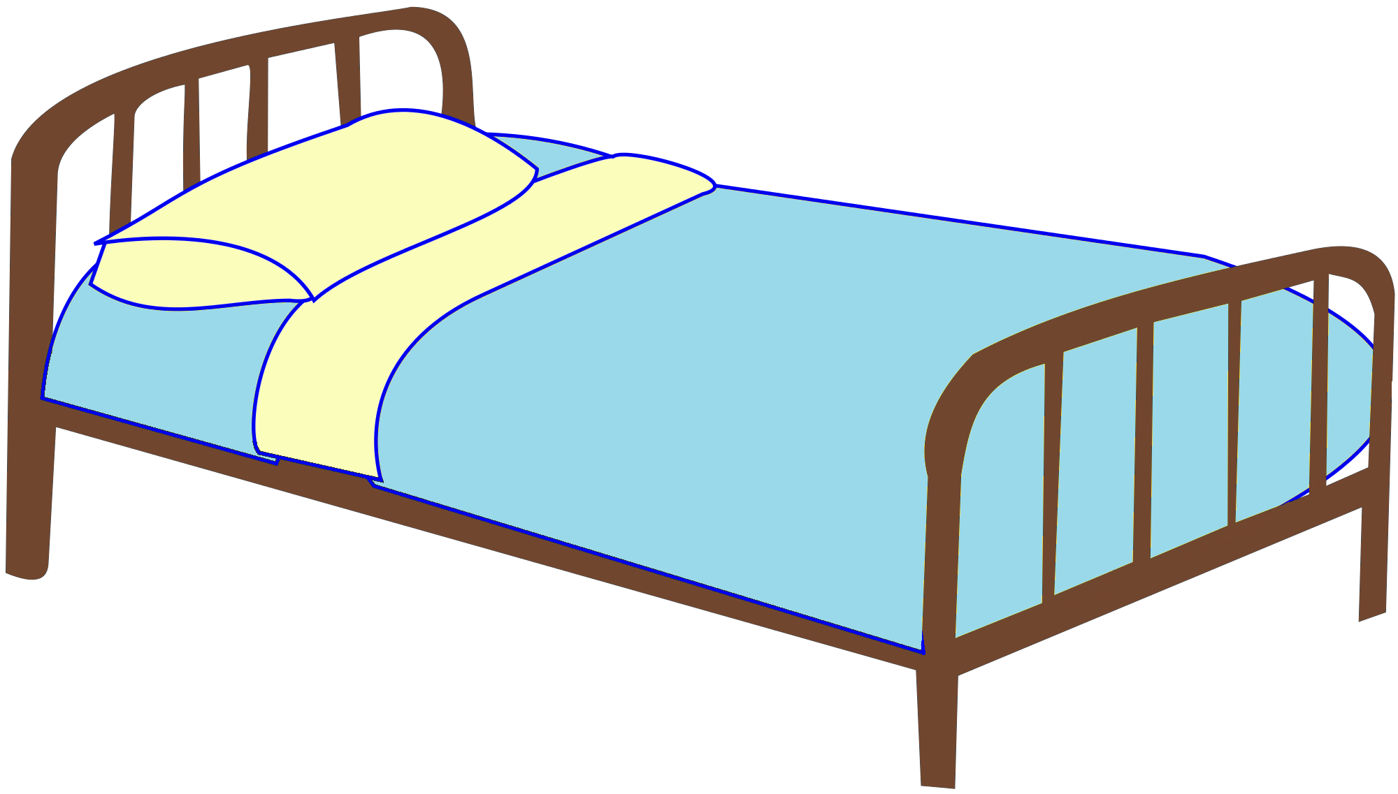 Bed clipart Clipartbold bed Cartoon art images
