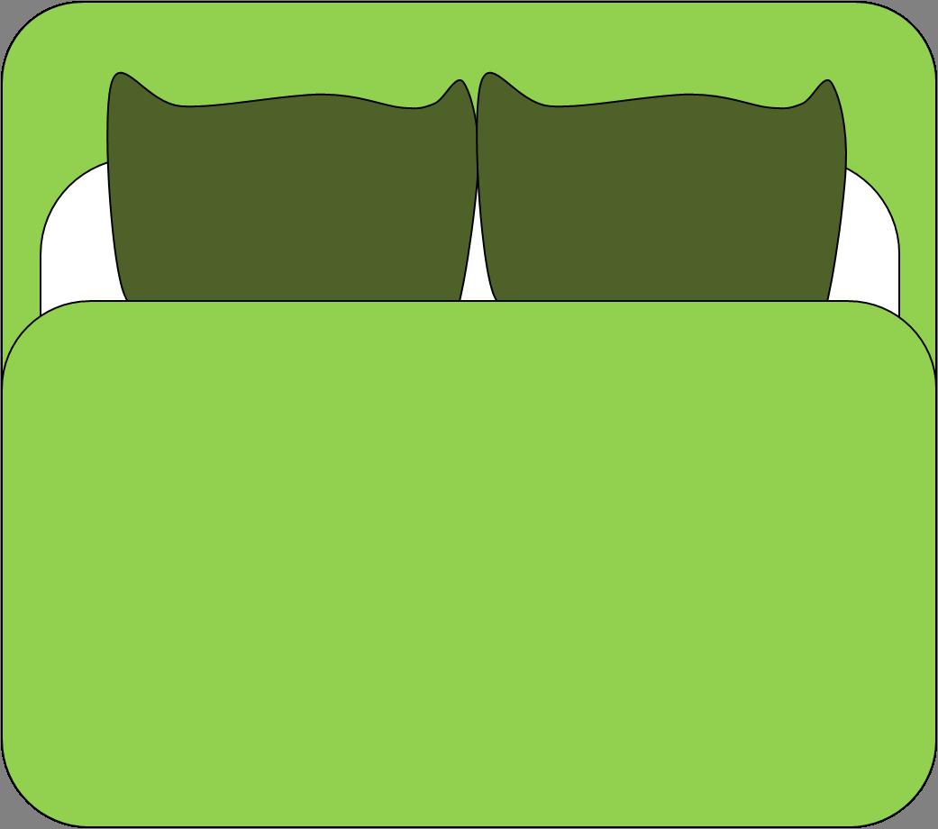 Clipart com bed cartoon cartoon