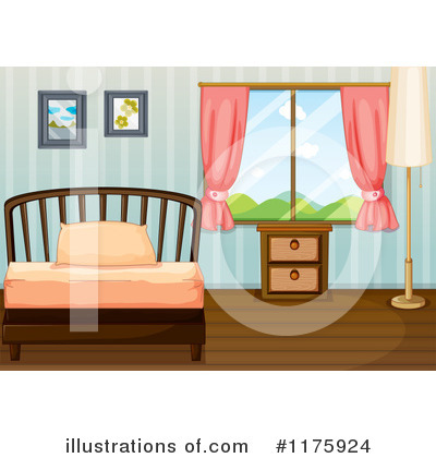 Bed clipart badroom Graphics #1175924 RF Clipart by
