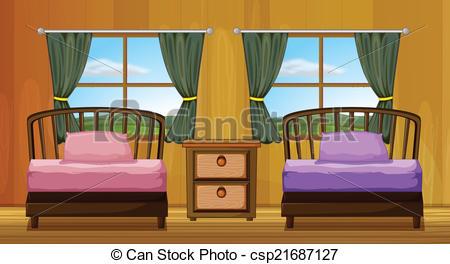 Bed clipart badroom Download Clipart Art Bedroom Art