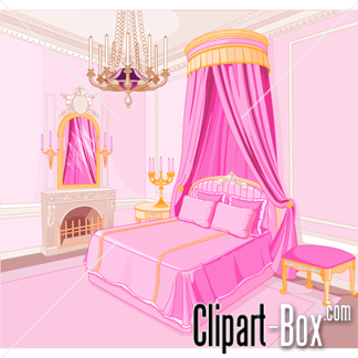 Bed clipart badroom Panda Clipart Free Clipart Clipart