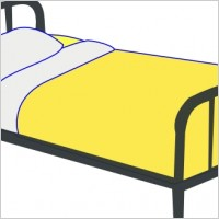 Bed clipart bed sheet Clip Bed Free Free Art