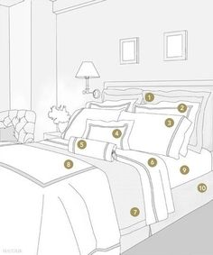 Bed clipart bedding EURO together and to Jacquard