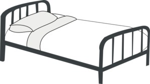 Bed clipart bedding Art Bedding Clipart – Download