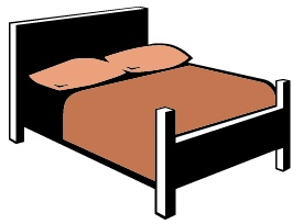 Bed clipart big bed Clip Free Clipart clip Bed