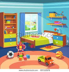 Bed clipart childrens bedroom The house BedroomChildrenThe clipart de