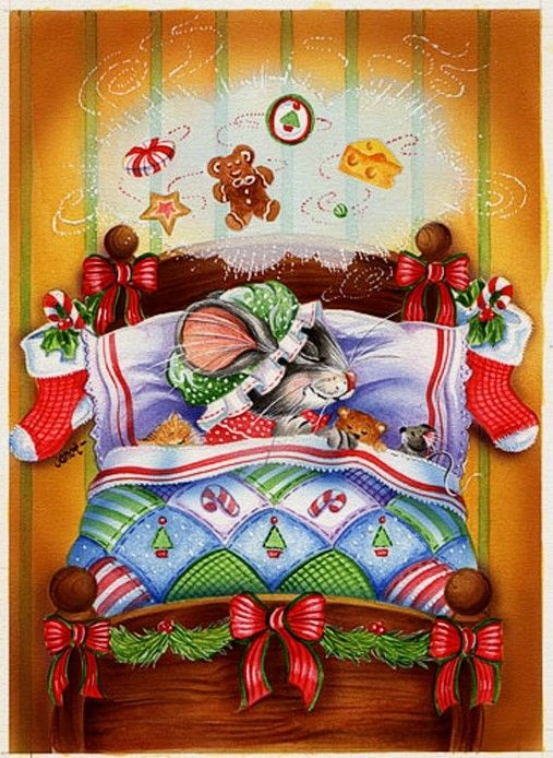 Bed clipart christmas And on Pinterest Christmas 2
