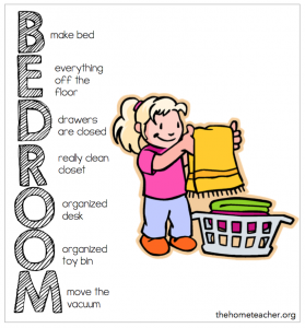 Bed clipart clean bed Cleaning Plan Kids Home Bedroom