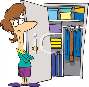 Desk clipart college professor Cliparts Room Clipart Organized Closet