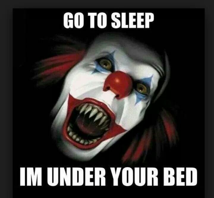Bed clipart creepy Art liked Under / bed