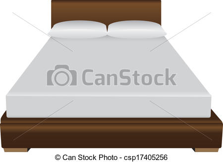 Bed clipart double bed  Double bed Double bed