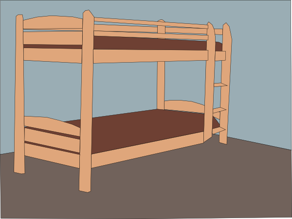 Bed clipart double bed Art Download this Clip com