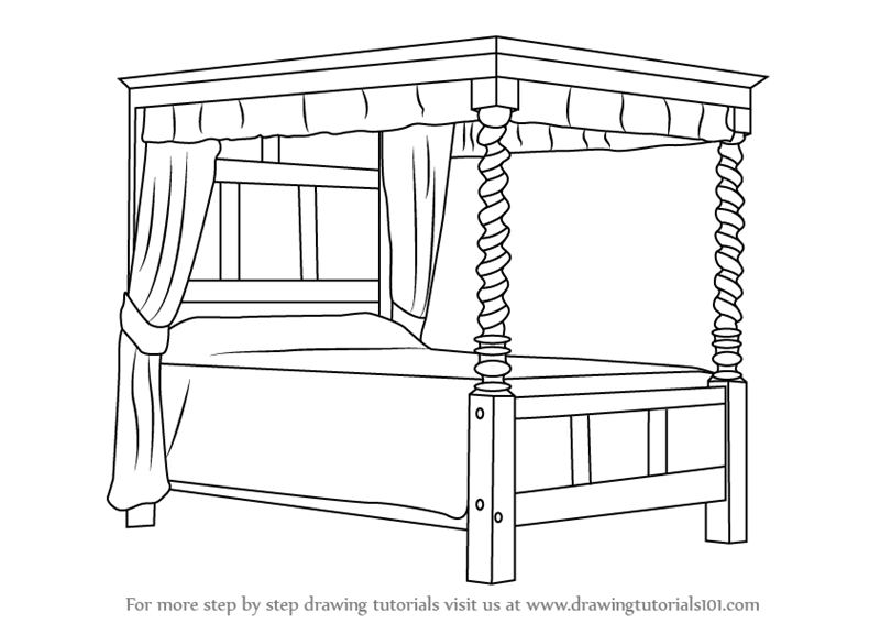 Drawn bed : Bed sciencewikis Com Clker