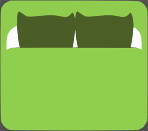 Bed clipart front view Vector Roole online View clip